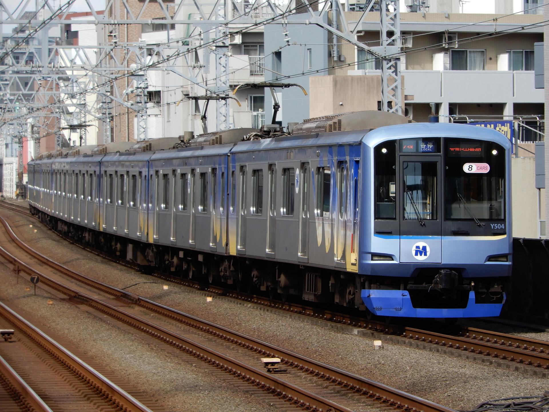 横浜高速Y500系Y514編成