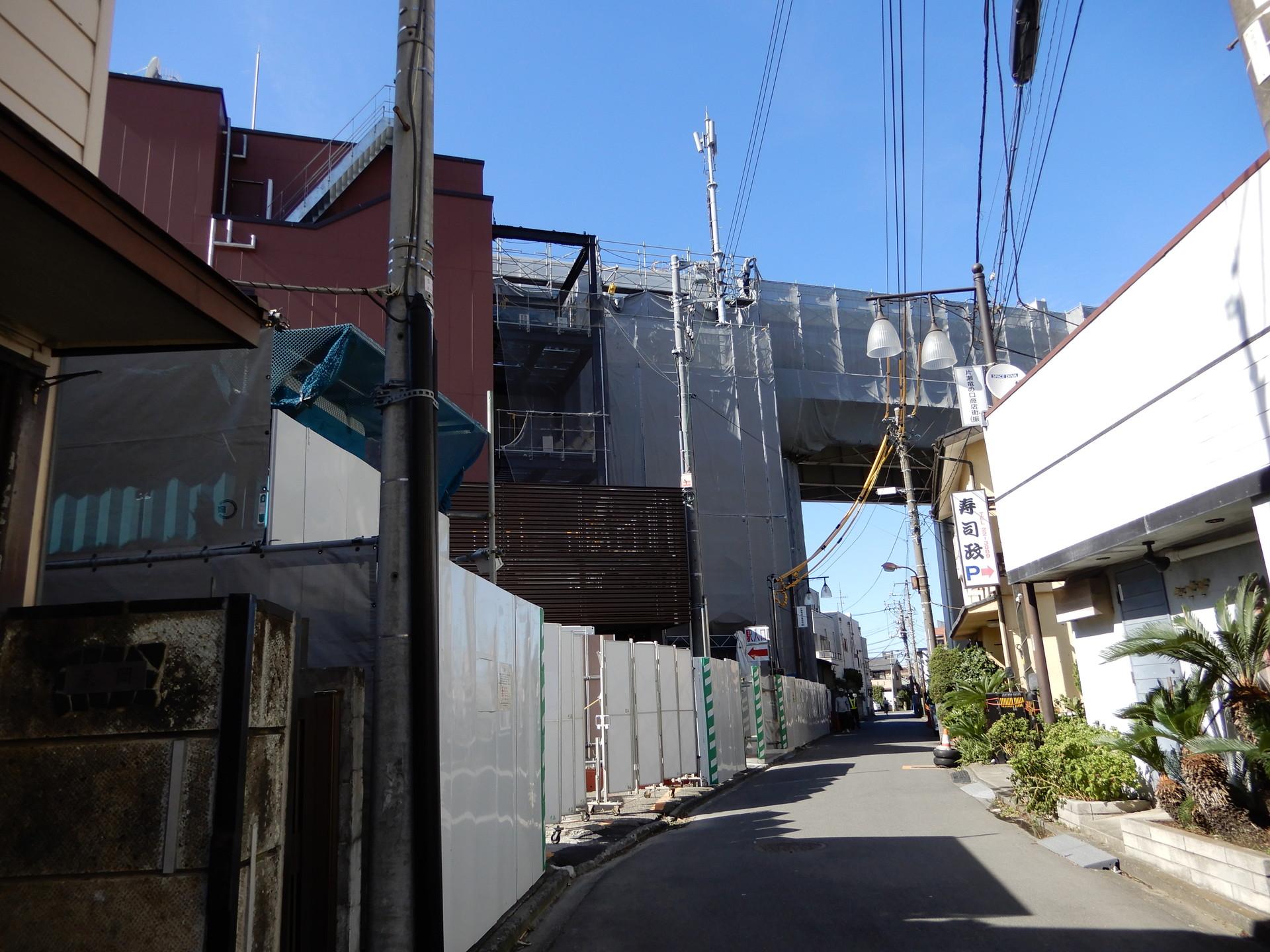 鎌倉口のある通り