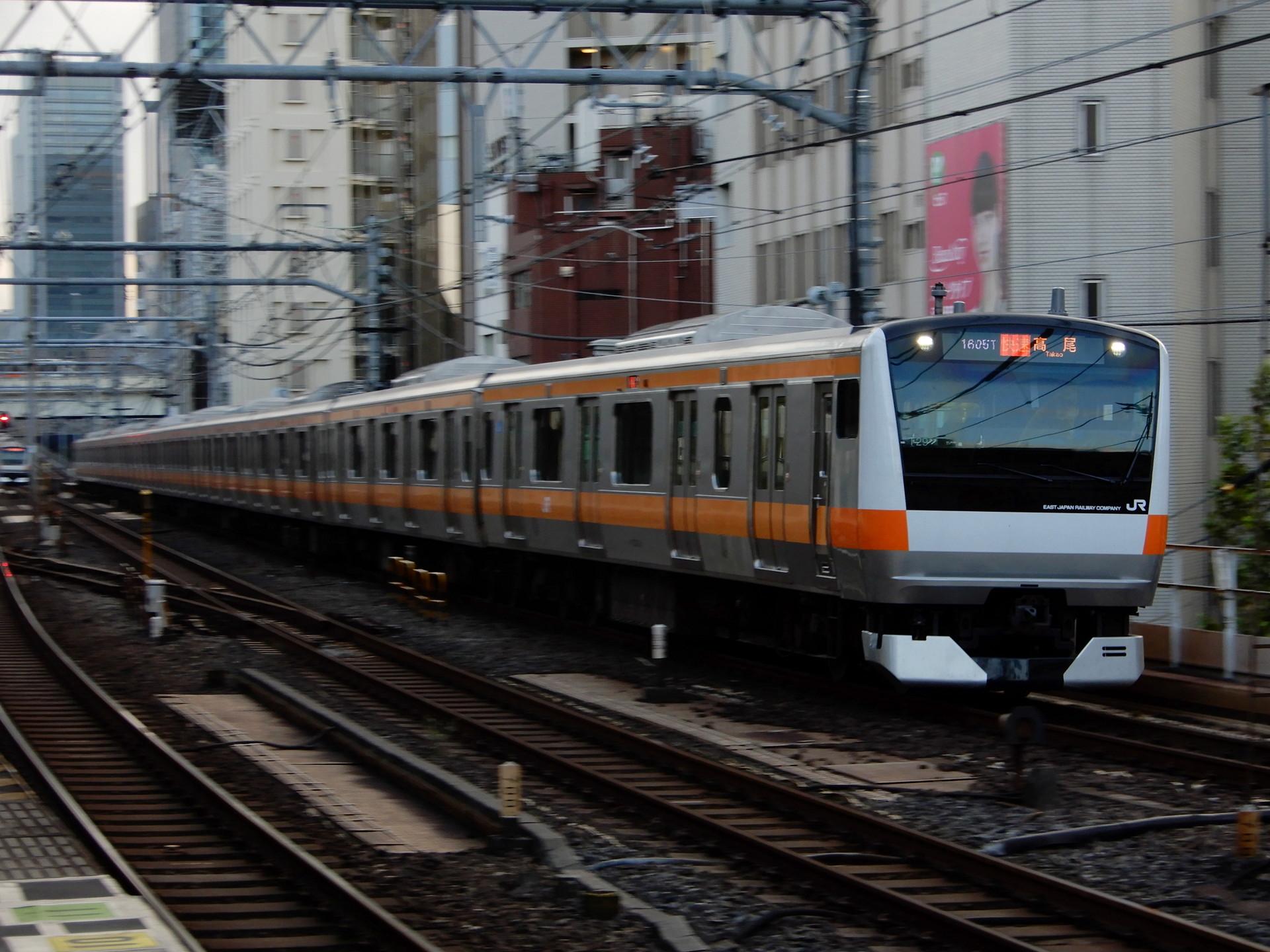中央線のE233系T29編成