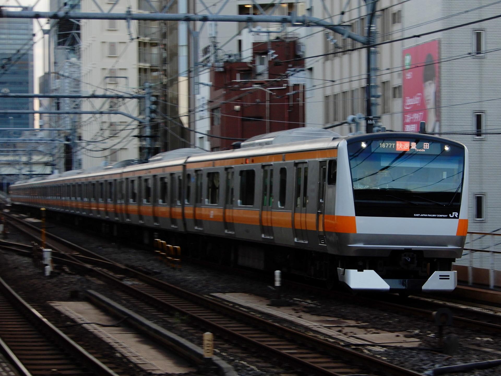 中央線のE233系T3編成
