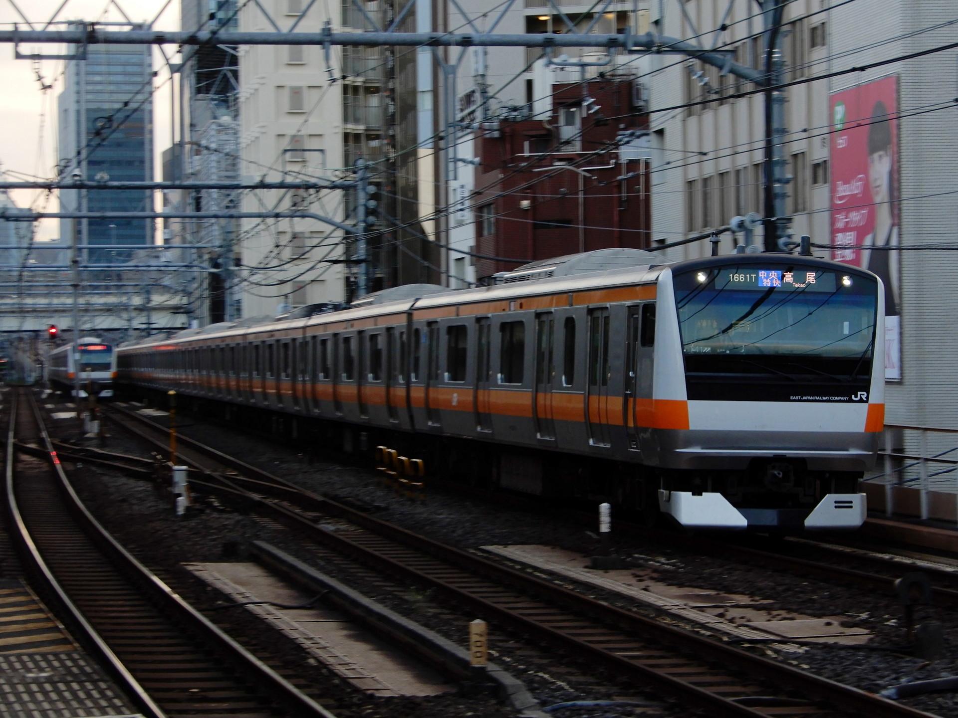 中央線のE233系T41編成