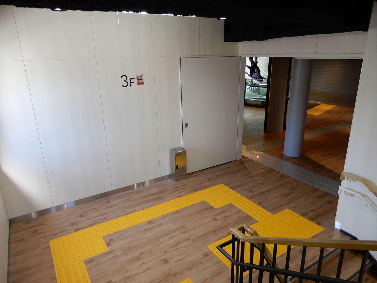 3階の踊り場