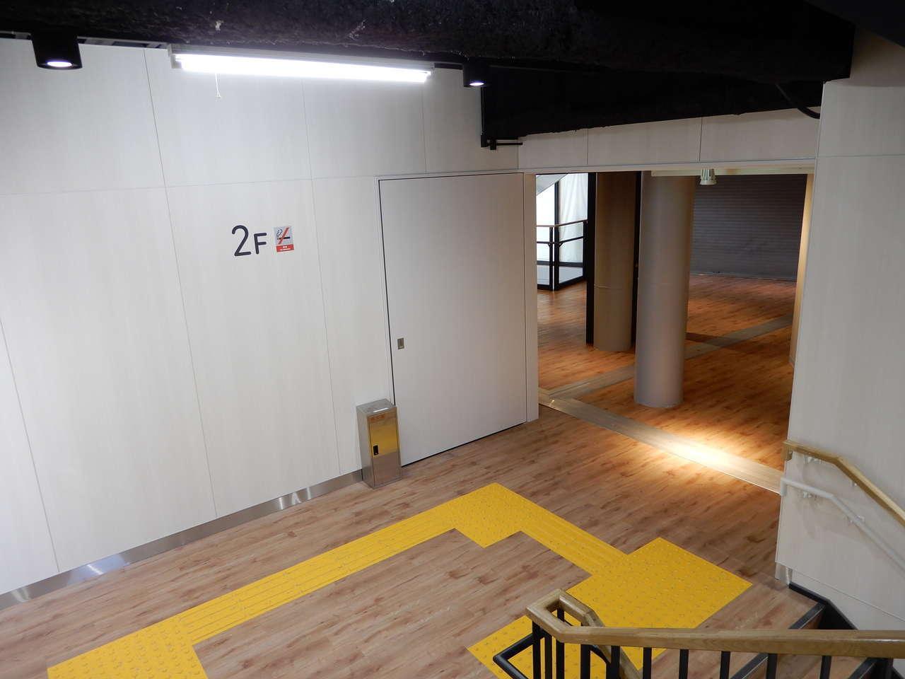 2階の踊り場