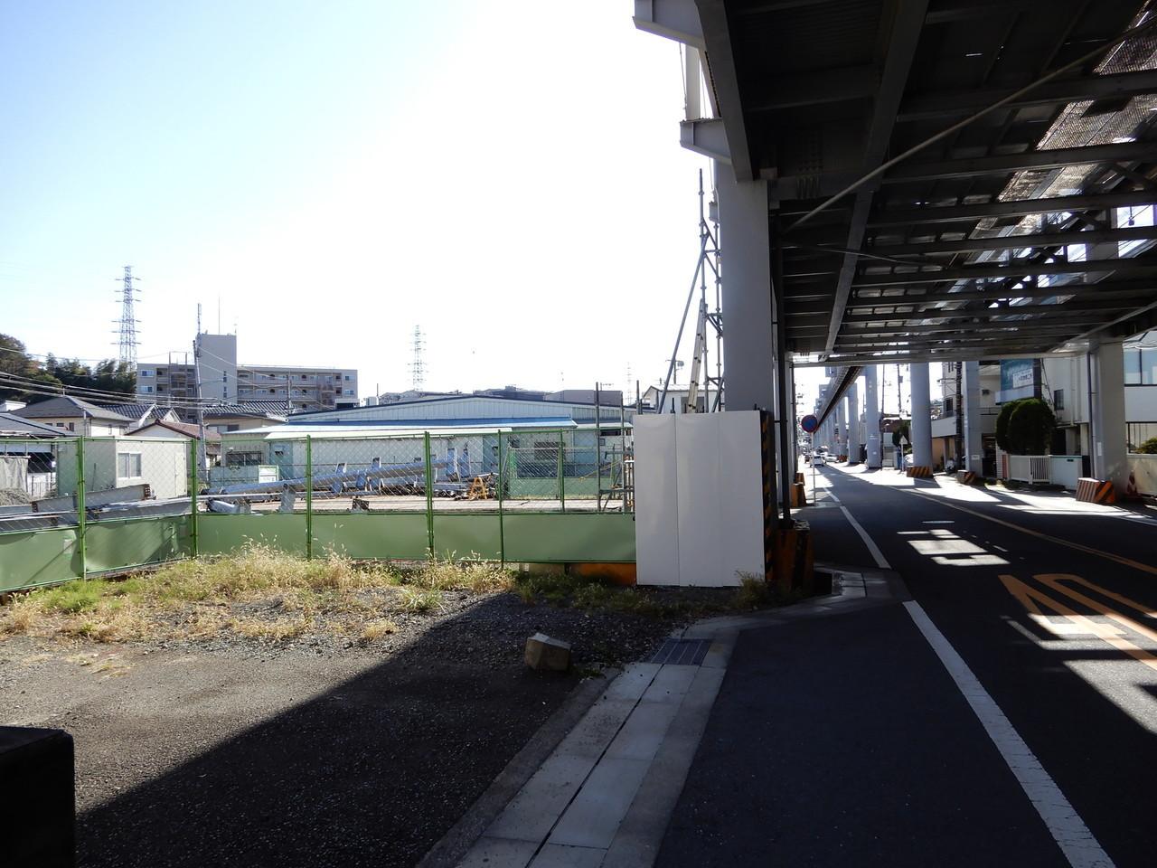 富士見町駅の下