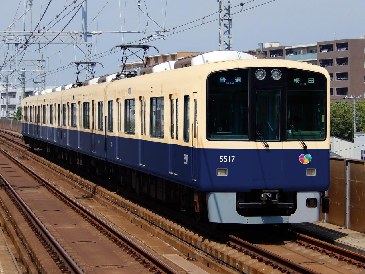 阪神5500形青胴車のウソ電