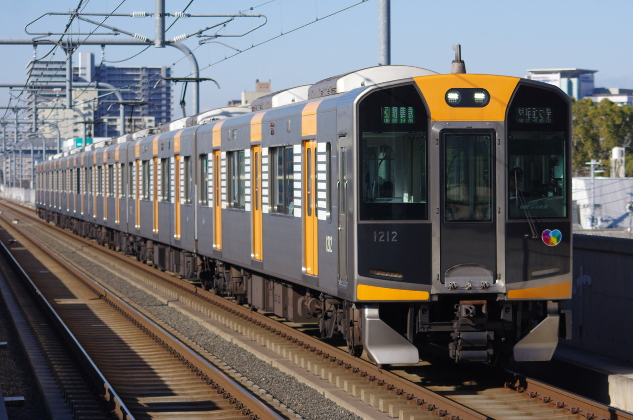 阪神1000系1212F