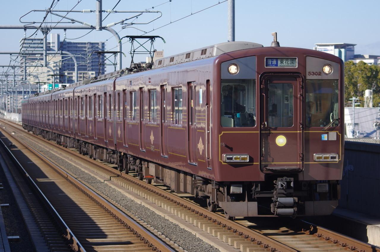 近鉄5800系DH02(デボ1形復刻塗装)