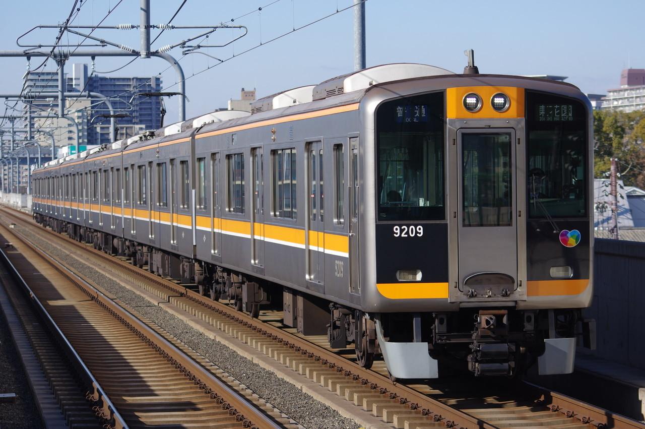 阪神9000系9209F