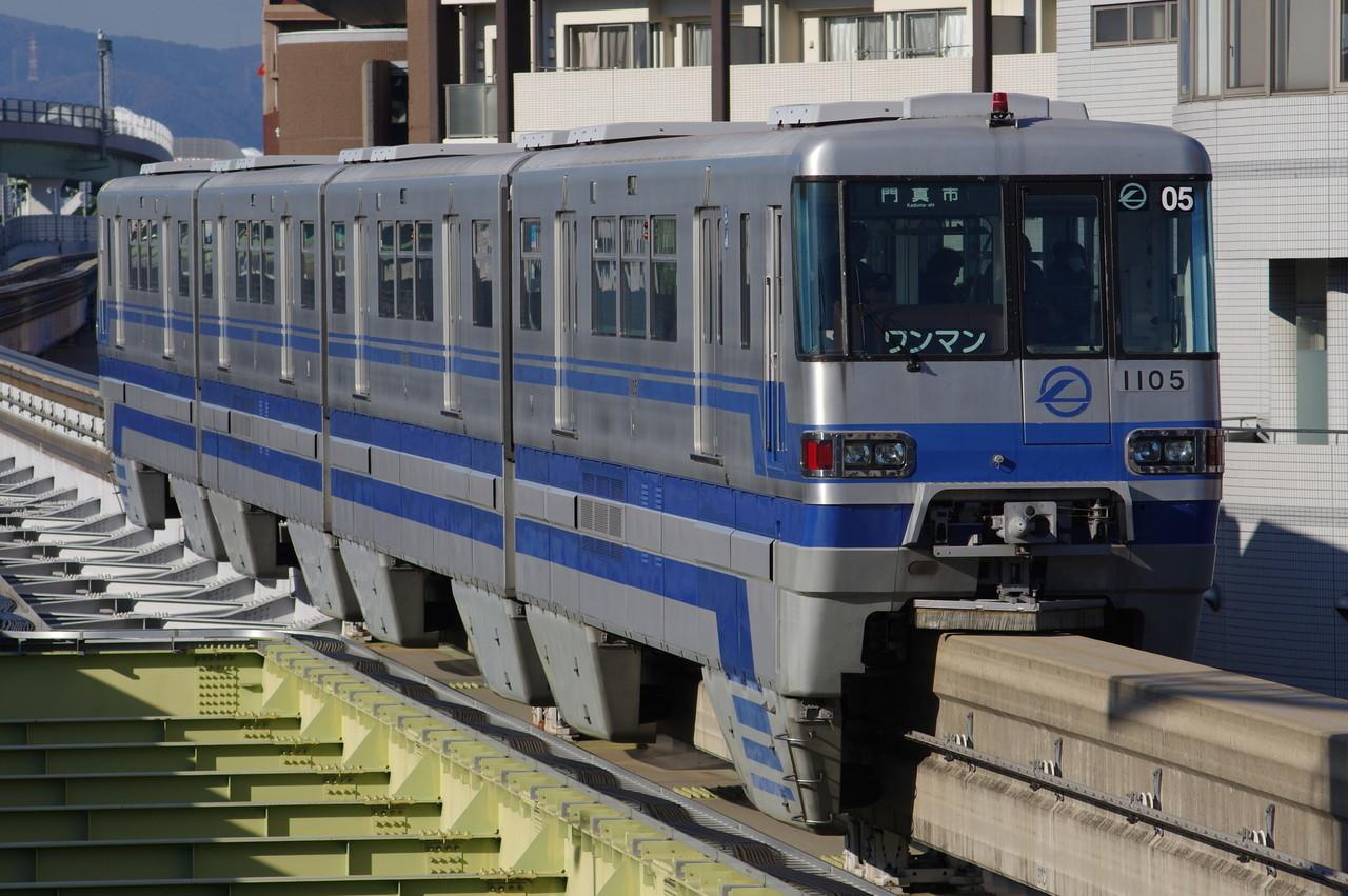 大阪モノレール1000系05編成