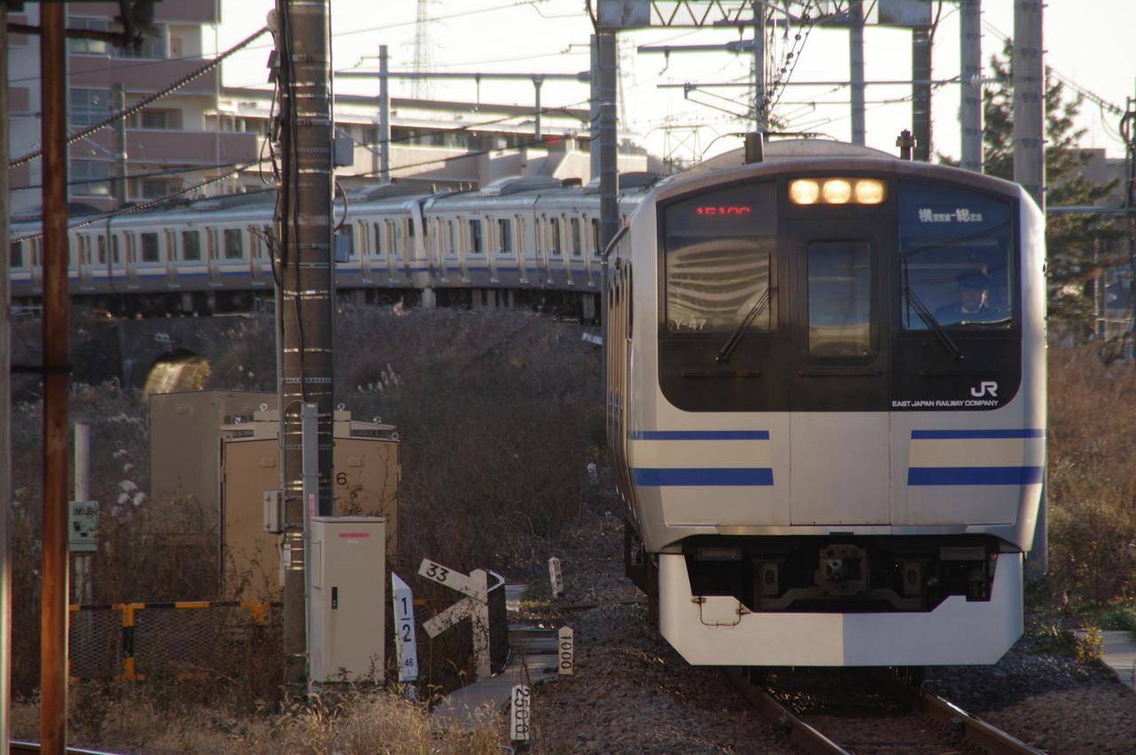 横須賀線E217系Y-47編成