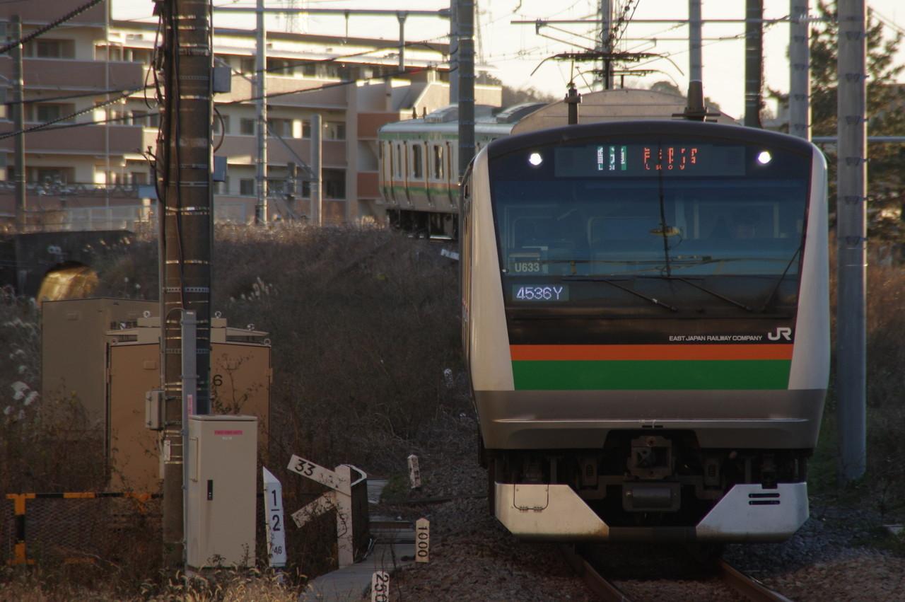 湘南新宿ラインE233系U633編成