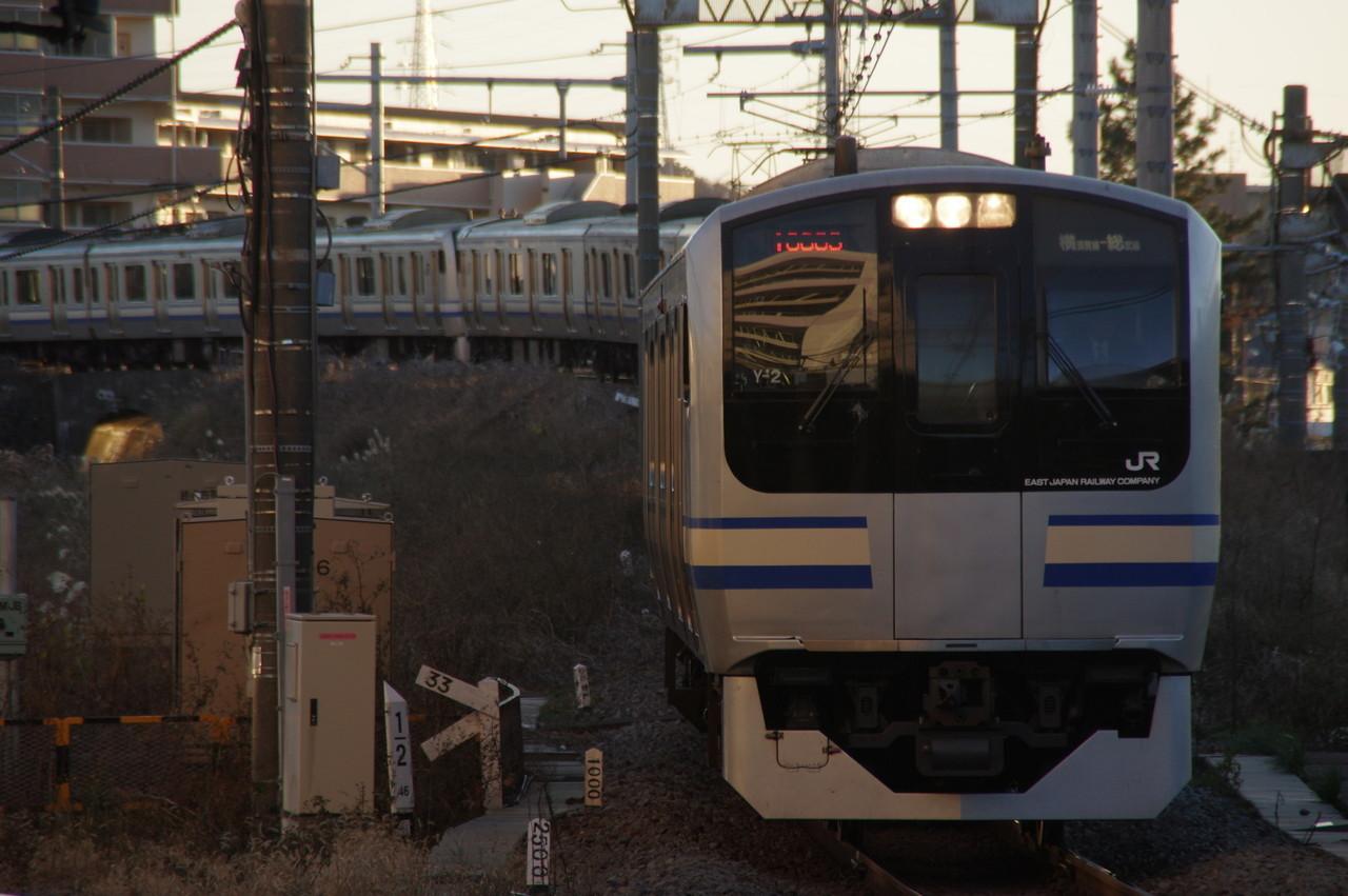 横須賀線E217系Y-2編成