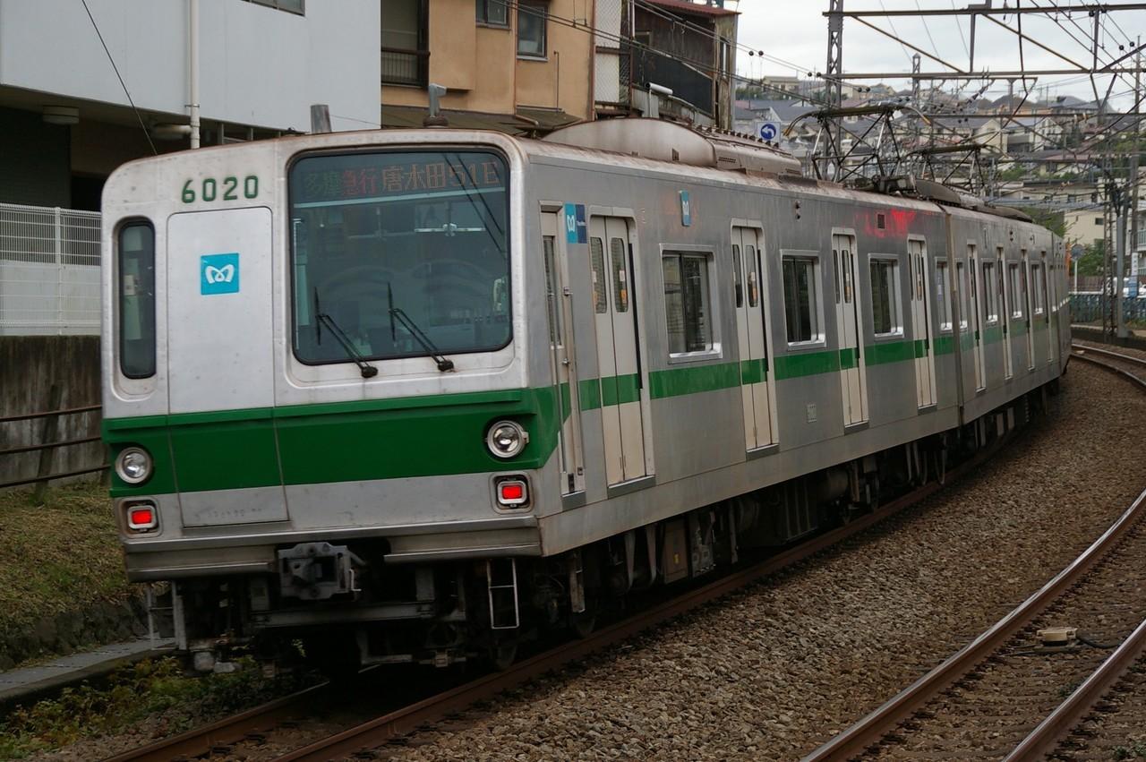 実物の6000系電車