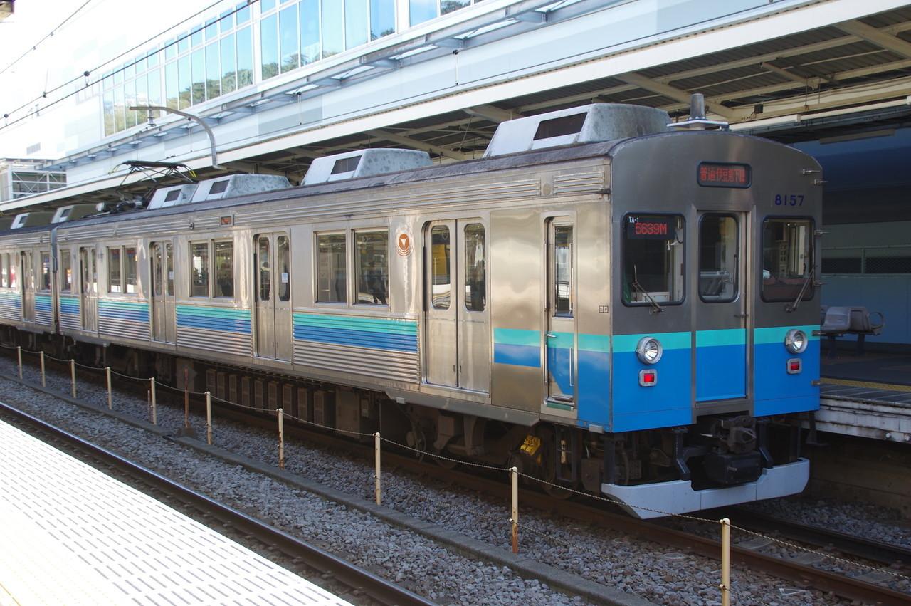 クモハ8157(伊豆急下田側)