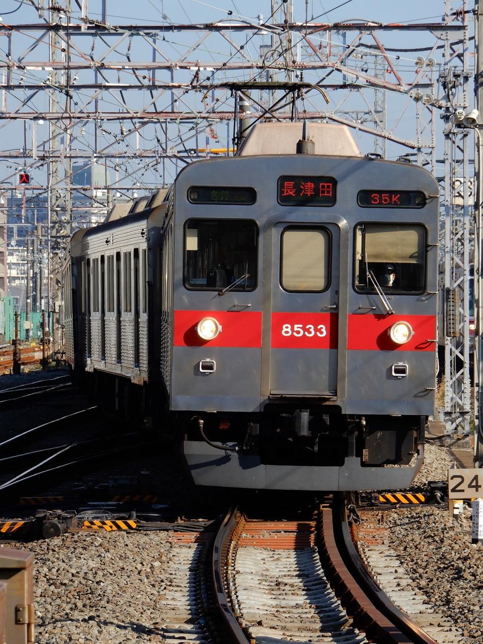 東急8500系の元写真