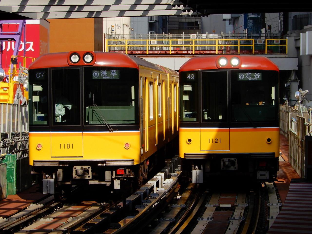 東京メトロ1000系の元写真