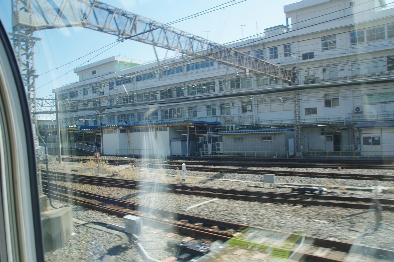 国府津駅の駅舎