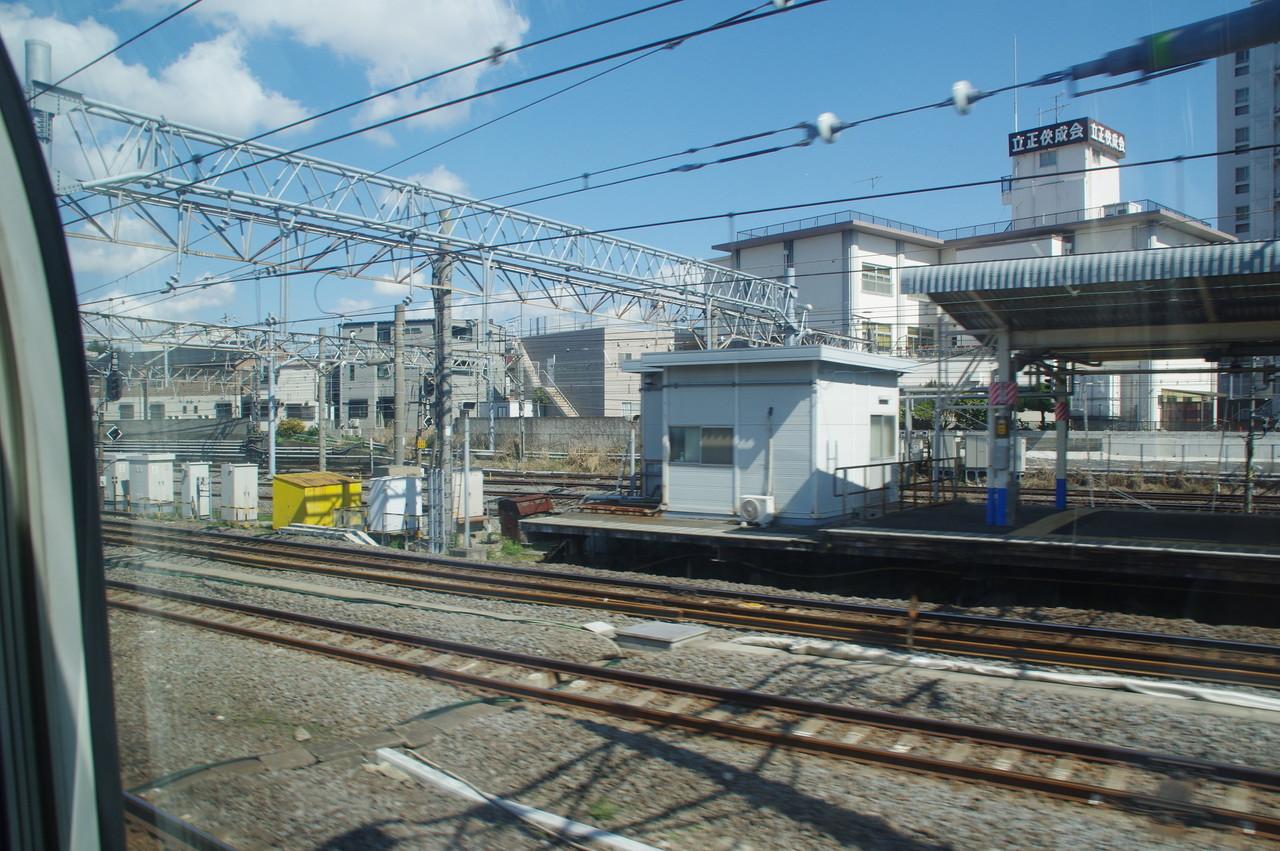大船駅ホームの詰所