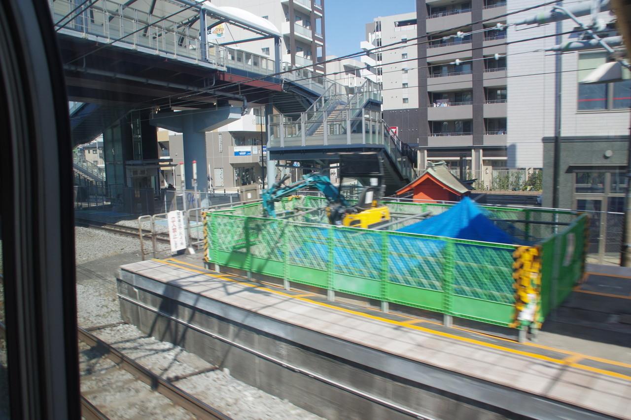 戸塚駅のホーム端