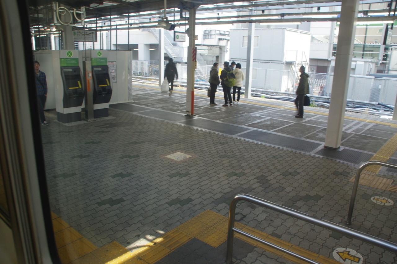 川崎駅のホーム
