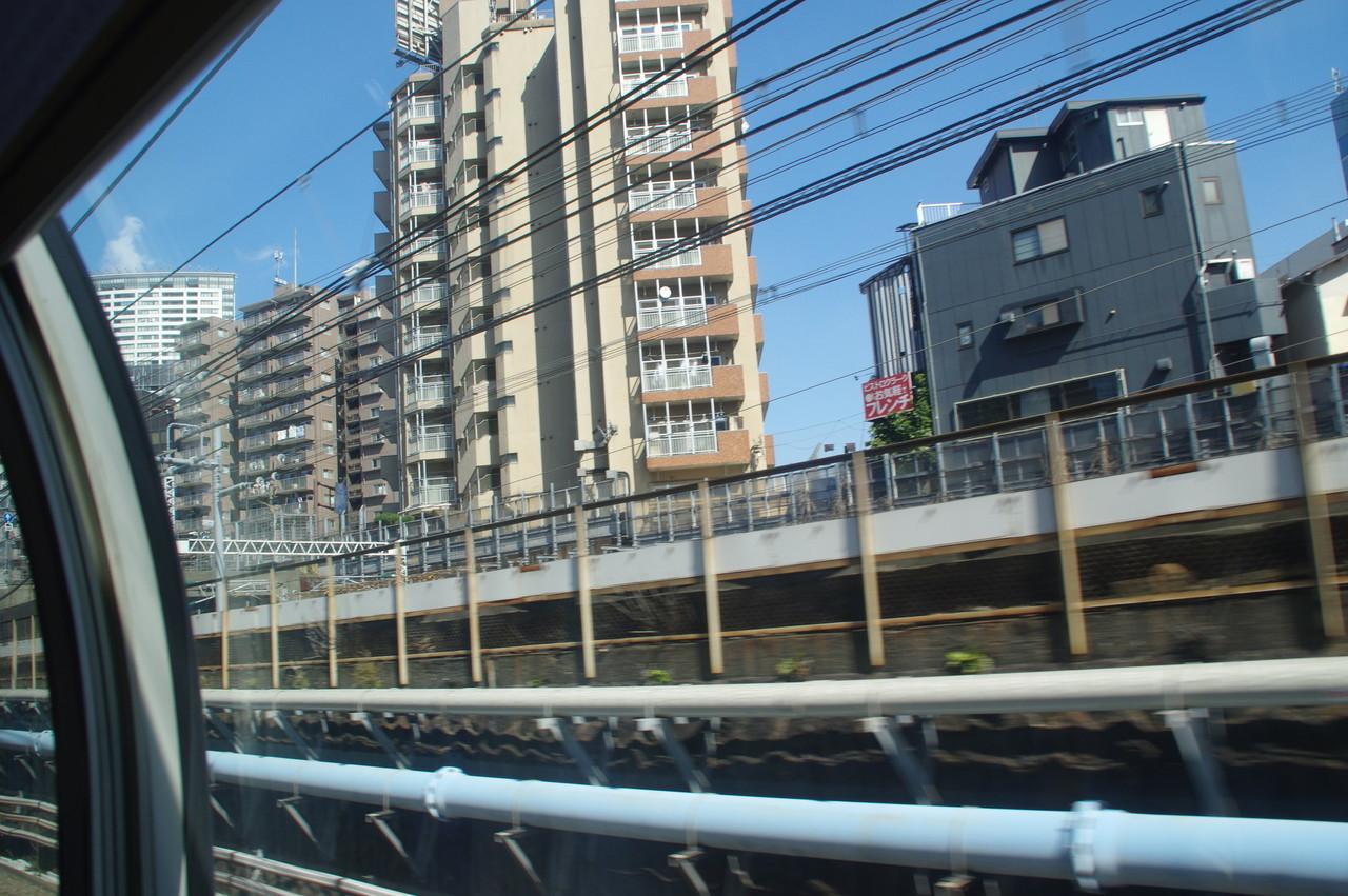 東海道新幹線の線路