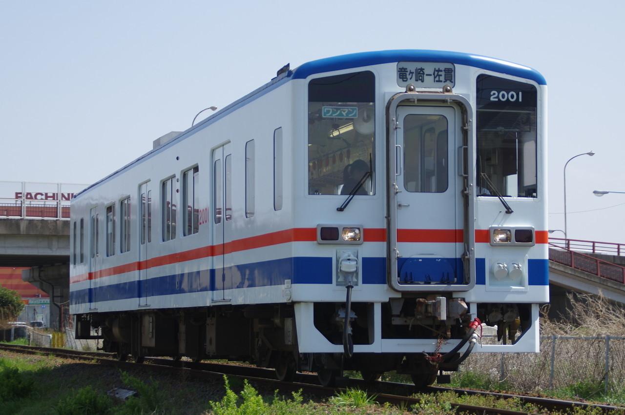 関東鉄道キハ2001 佐貫行き