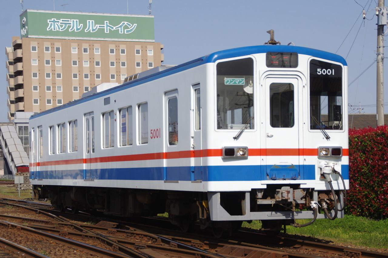 関東鉄道キハ5001