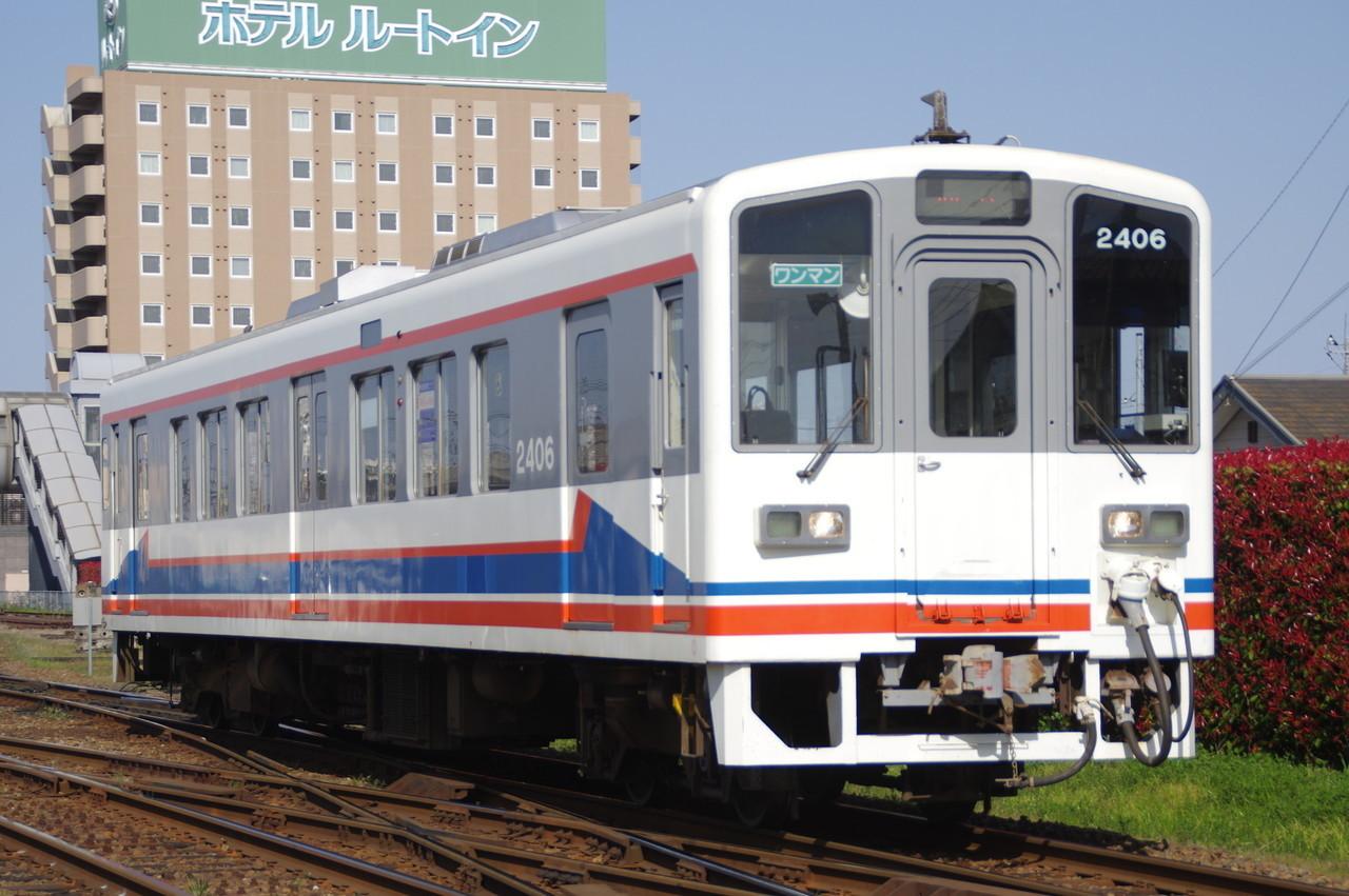 関東鉄道キハ2406 旧塗装