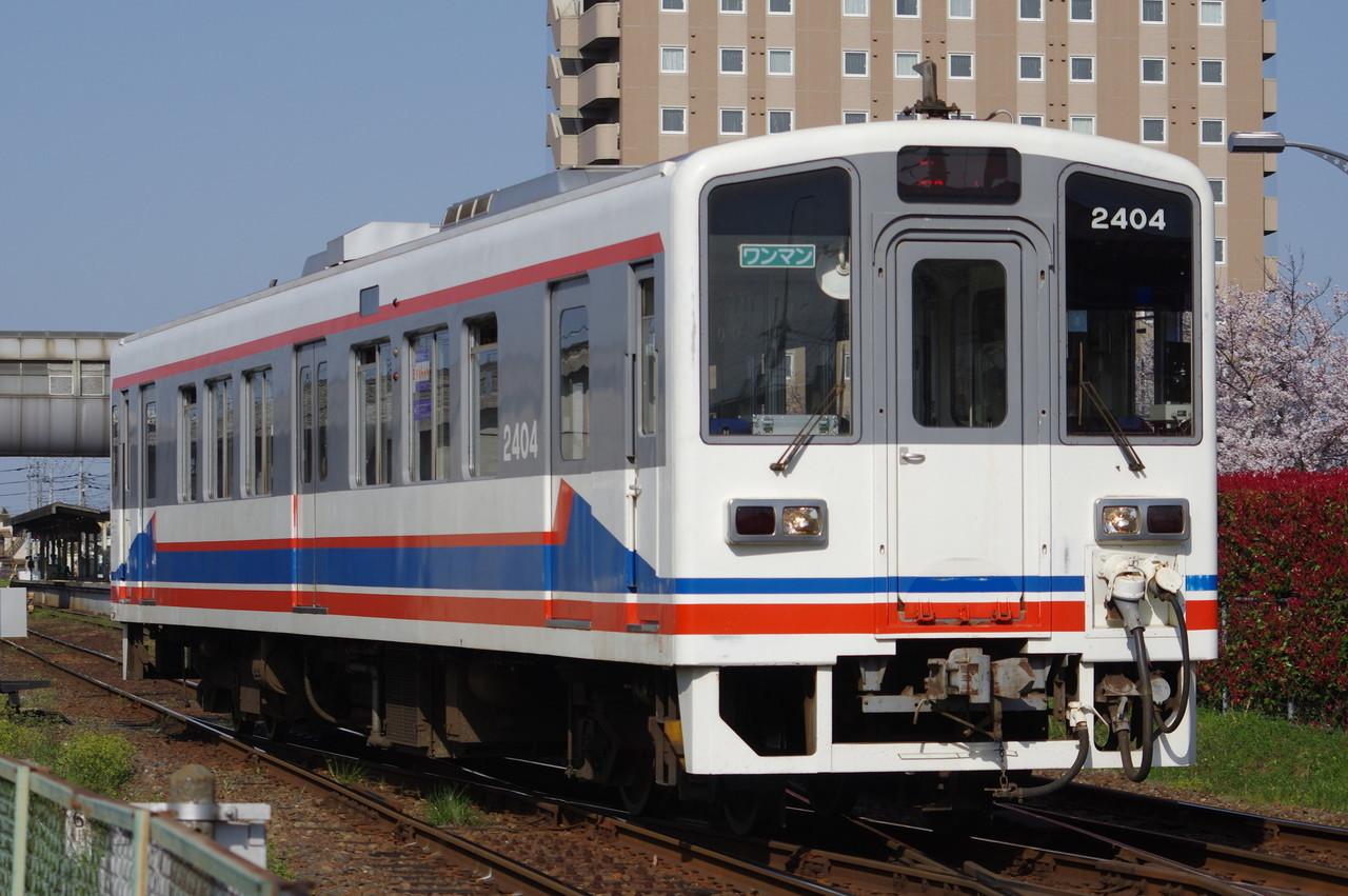 関東鉄道キハ2404 旧塗装