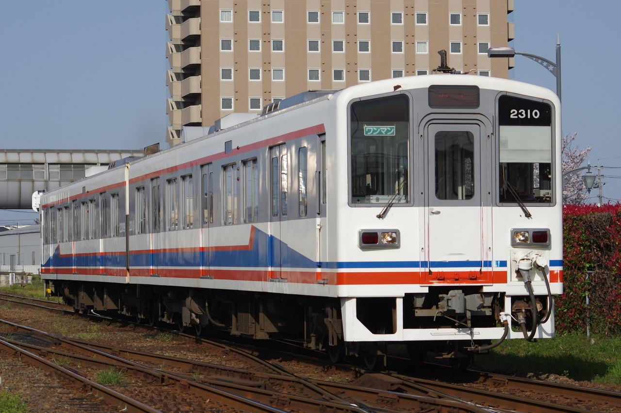 関東鉄道キハ2309+2310 旧塗装