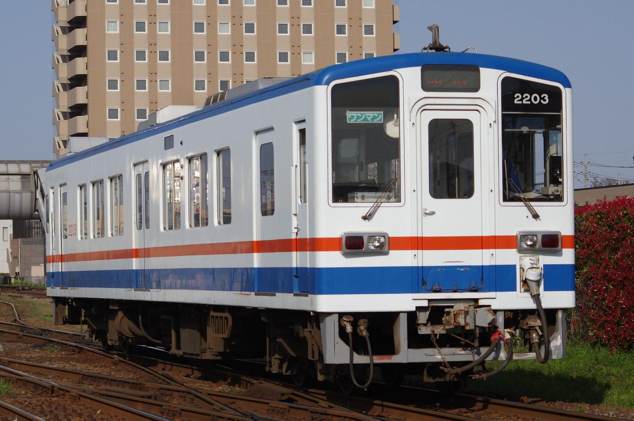 関東鉄道キハ2203