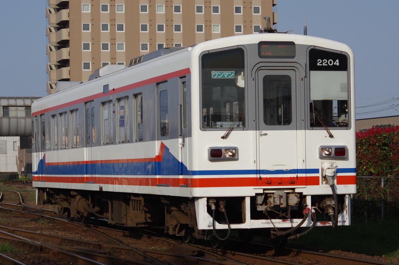 関東鉄道キハ2204 旧塗装