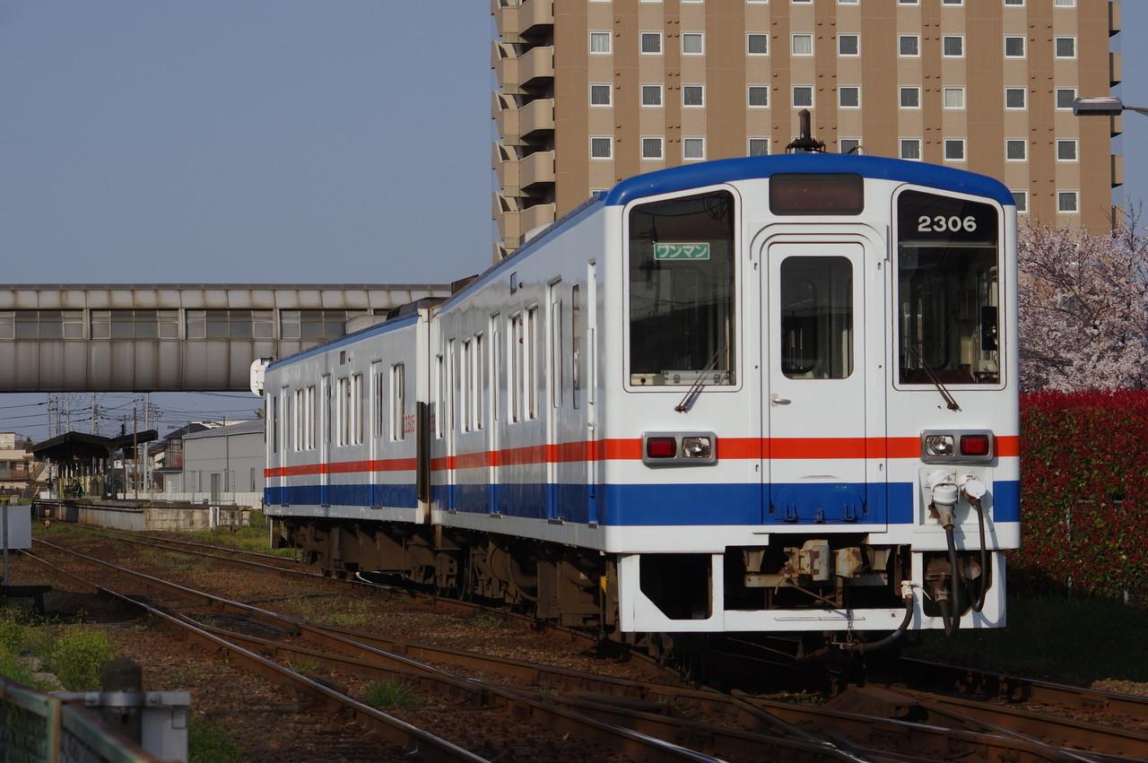 関東鉄道キハ2305+2306 回送