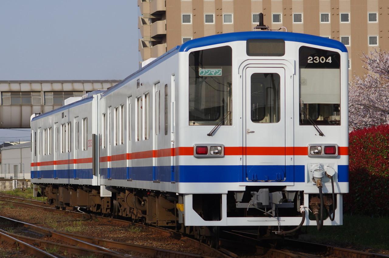 関東鉄道キハ2303+2304 回送