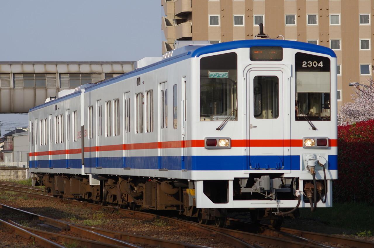 関東鉄道キハ2303+2304 取手行き