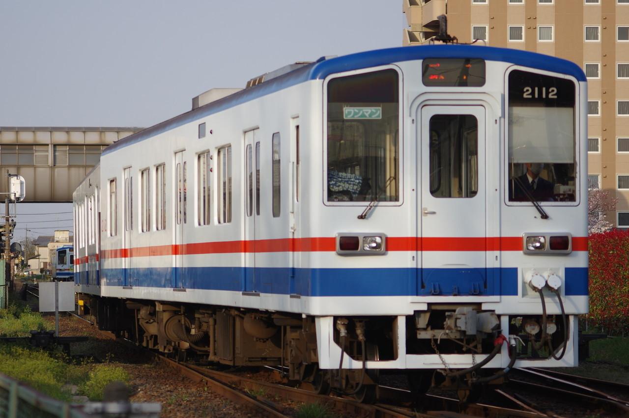 関東鉄道キハ2111+2112