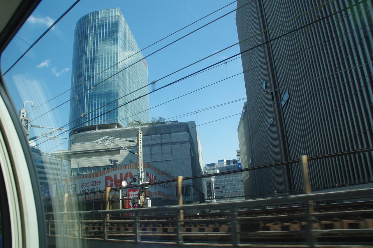 有楽町駅付近のビル