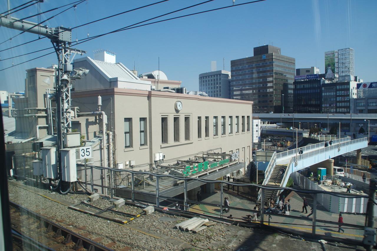 上野駅の駅舎