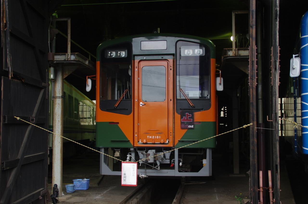 湘南色の天竜浜名湖鉄道TH2101