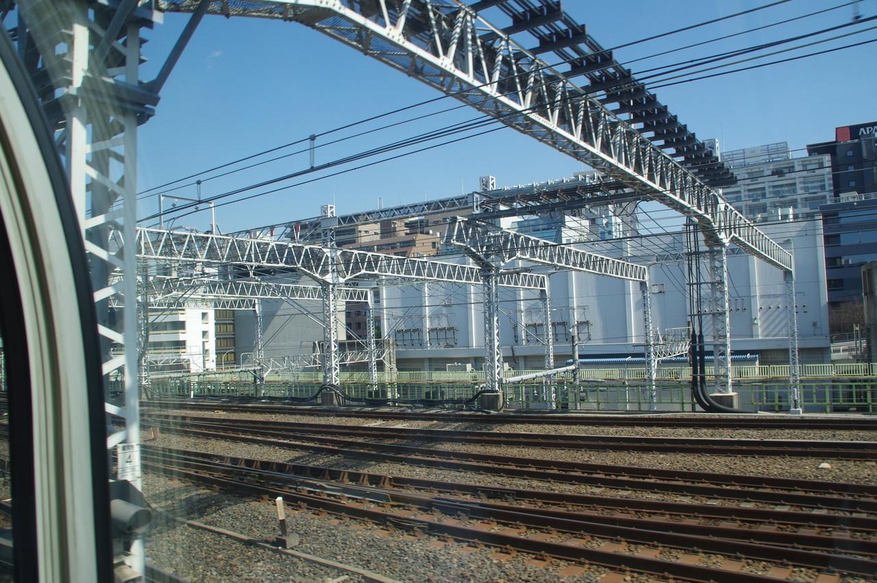 門型の架線柱