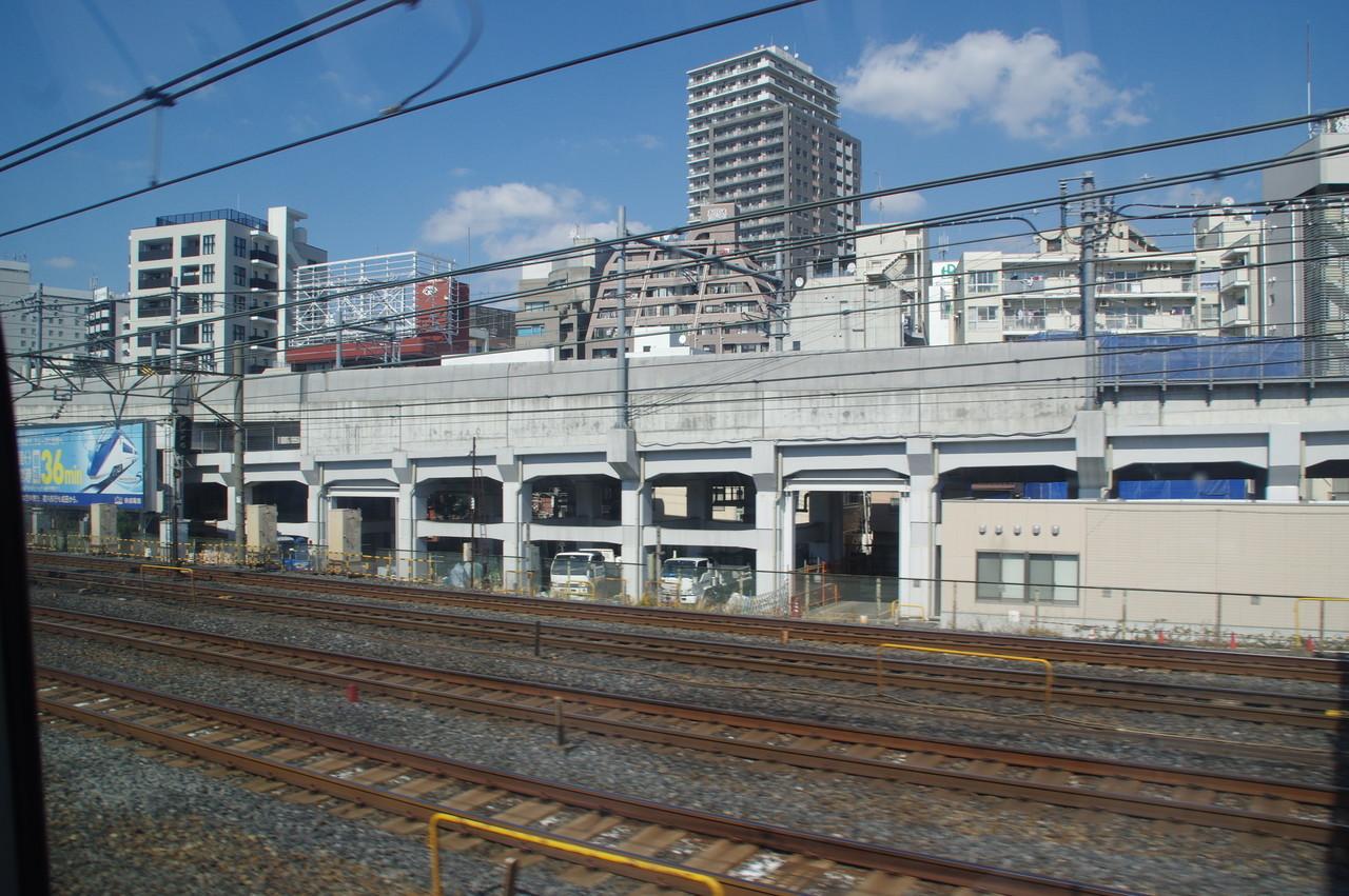 京成線の高架