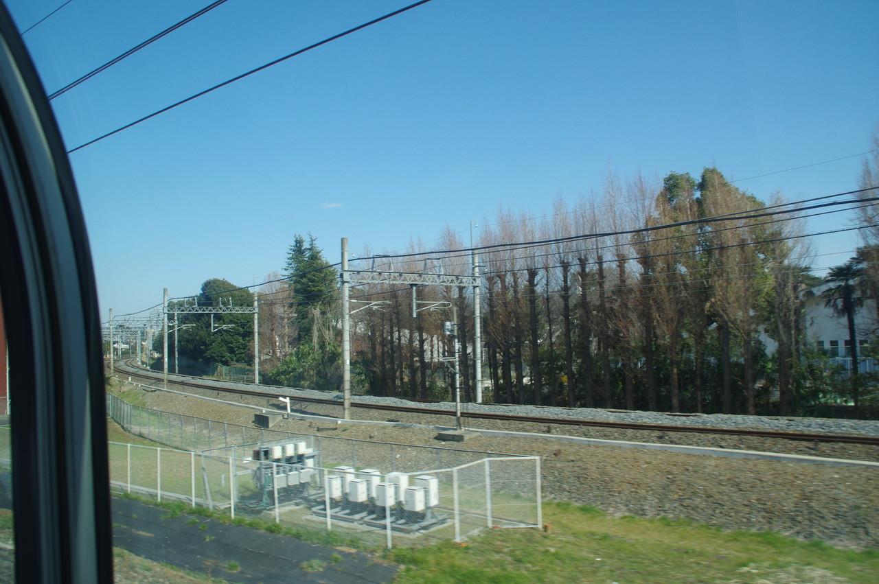 野田線との分岐地点