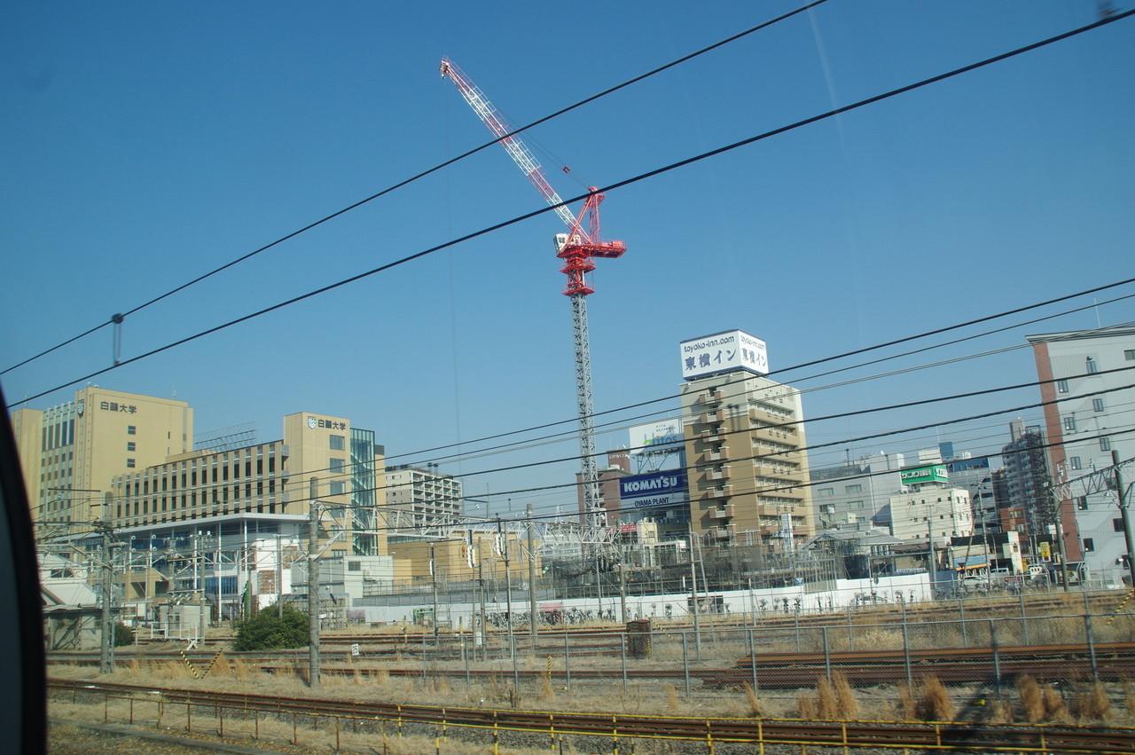 小山駅付近