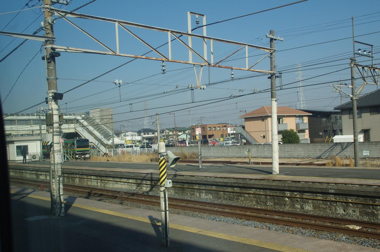 小金井駅のホーム