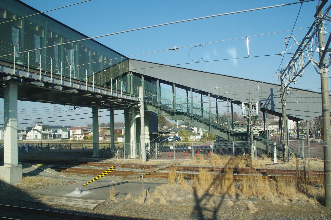 宝積寺駅の駅舎