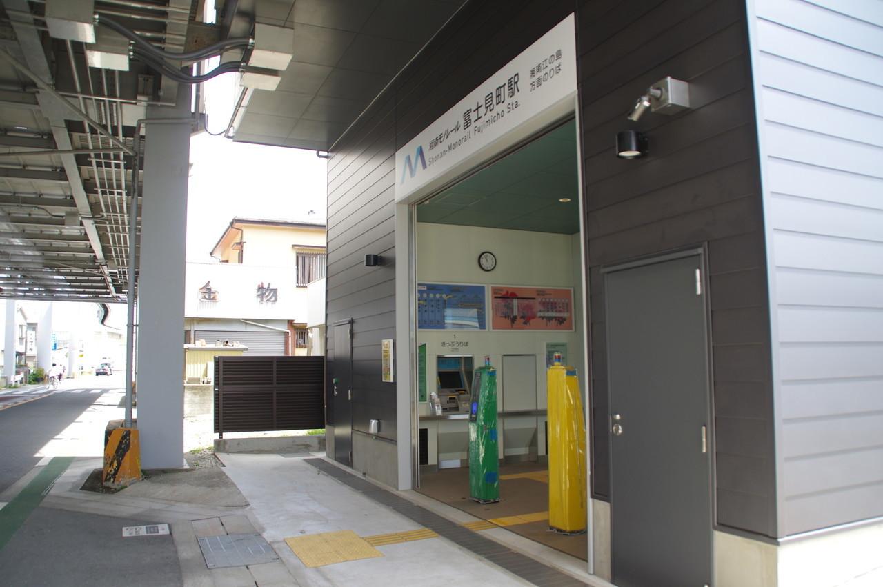 駅舎の入口