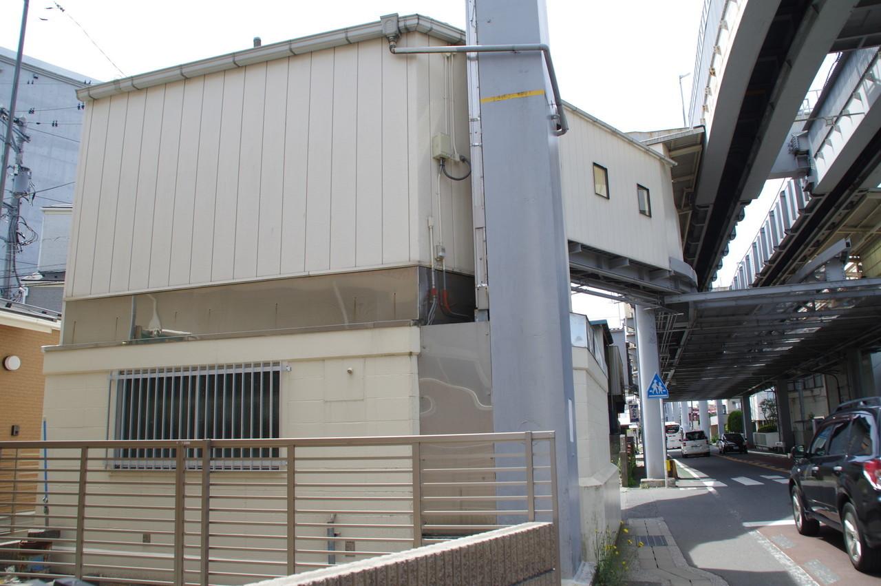 駅舎の北側