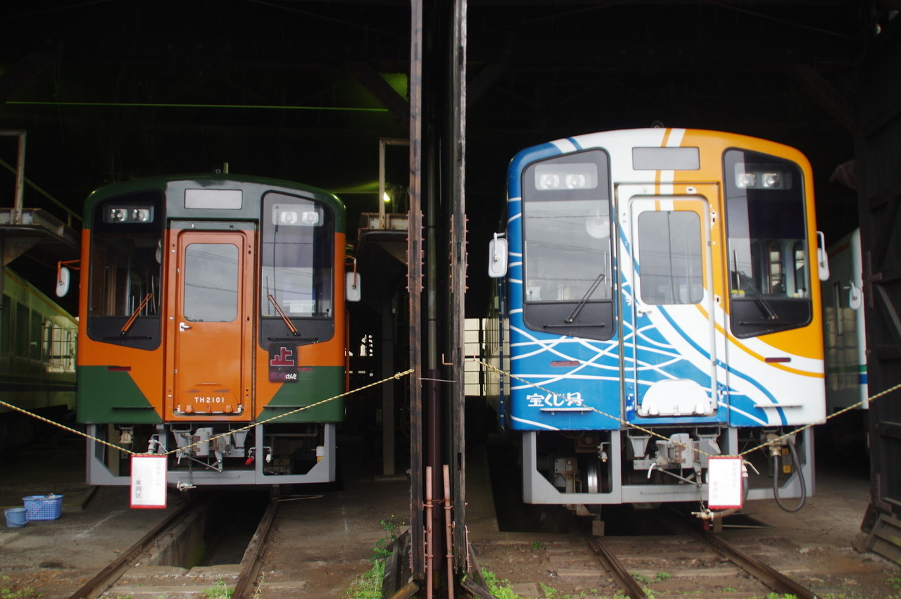 TH2101(湘南色)とTH9200