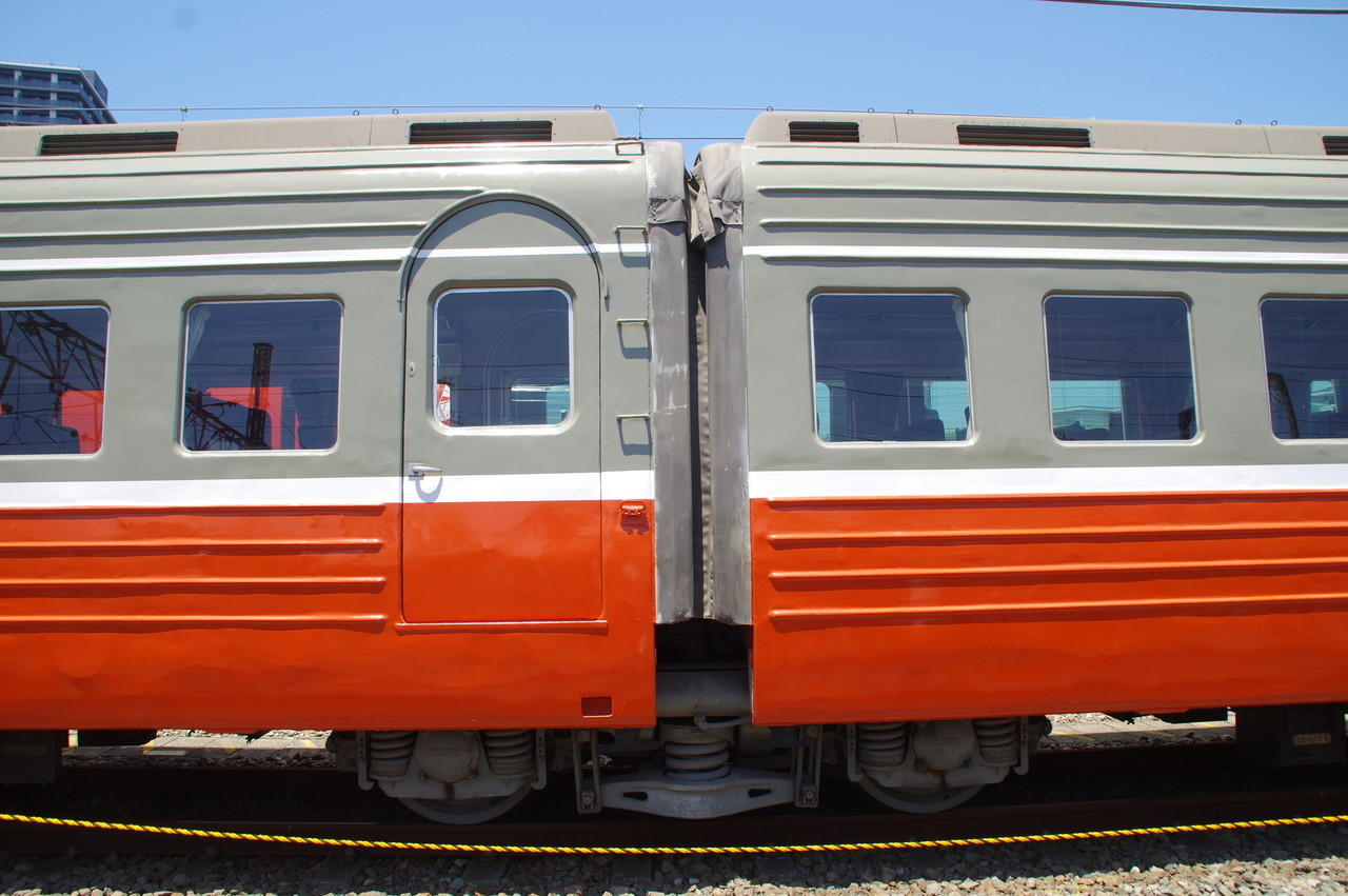 デハ3022-デハ3021間 台車