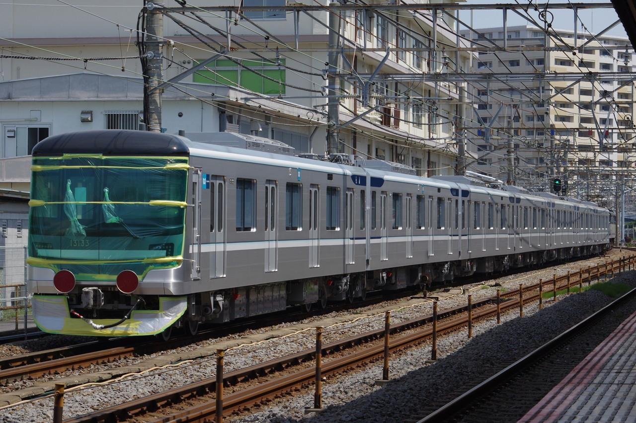 東京メトロ13000系 甲種輸送
